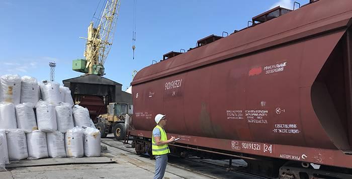 Krovinių gabenimas geležinkeliais TLC logistics