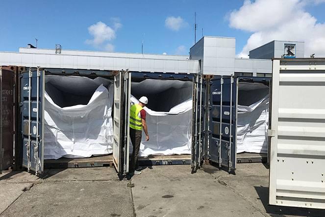 Krovinių pakavimas ir fasavimas klaipedos uoste TLC logistics