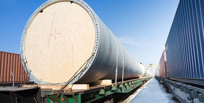 Negabaritinių nestandartinių krovinių gabenimas TLC logistics flat